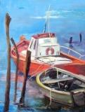 Barques Ile de Ré 70x50 330€